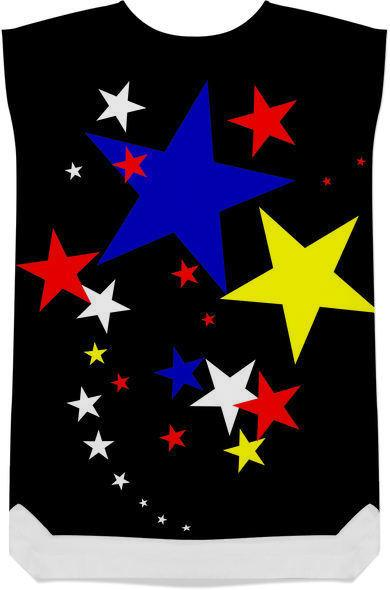 Star Colours digital abstract design
