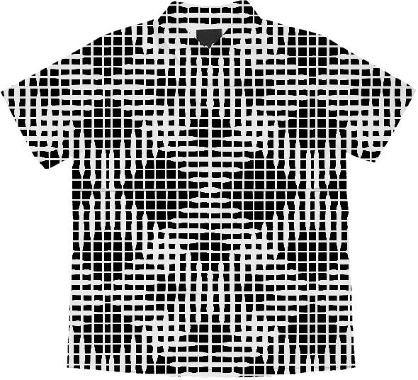 Black and white Abstract Diamond pattern