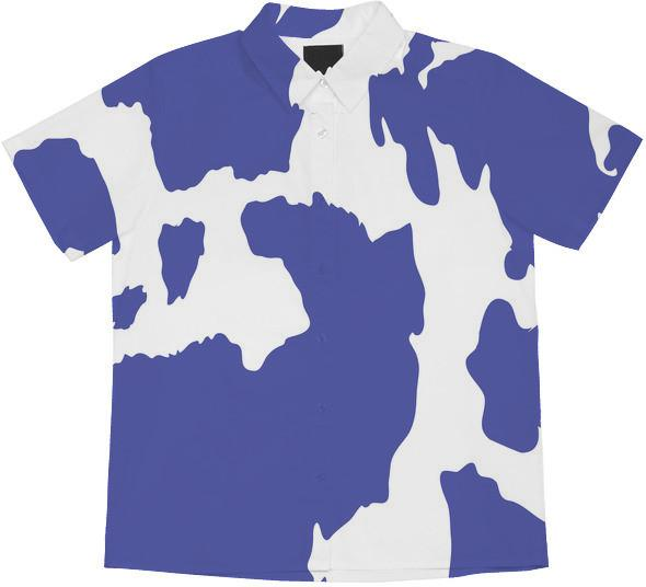 Cow Print Periwinkle