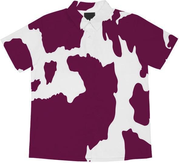 Purple Cow Print