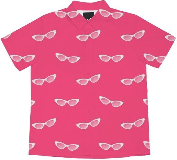 Retro Sunglasses Pink