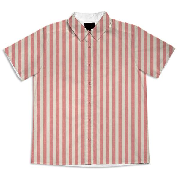 Simple Pink and Cream Stripe
