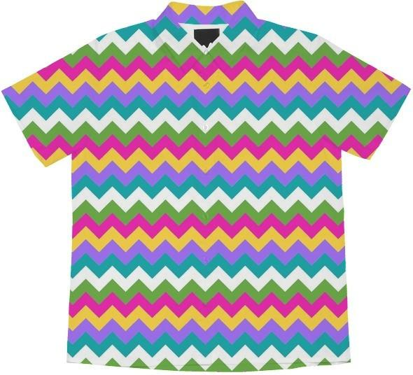 Spring Colors Chevron