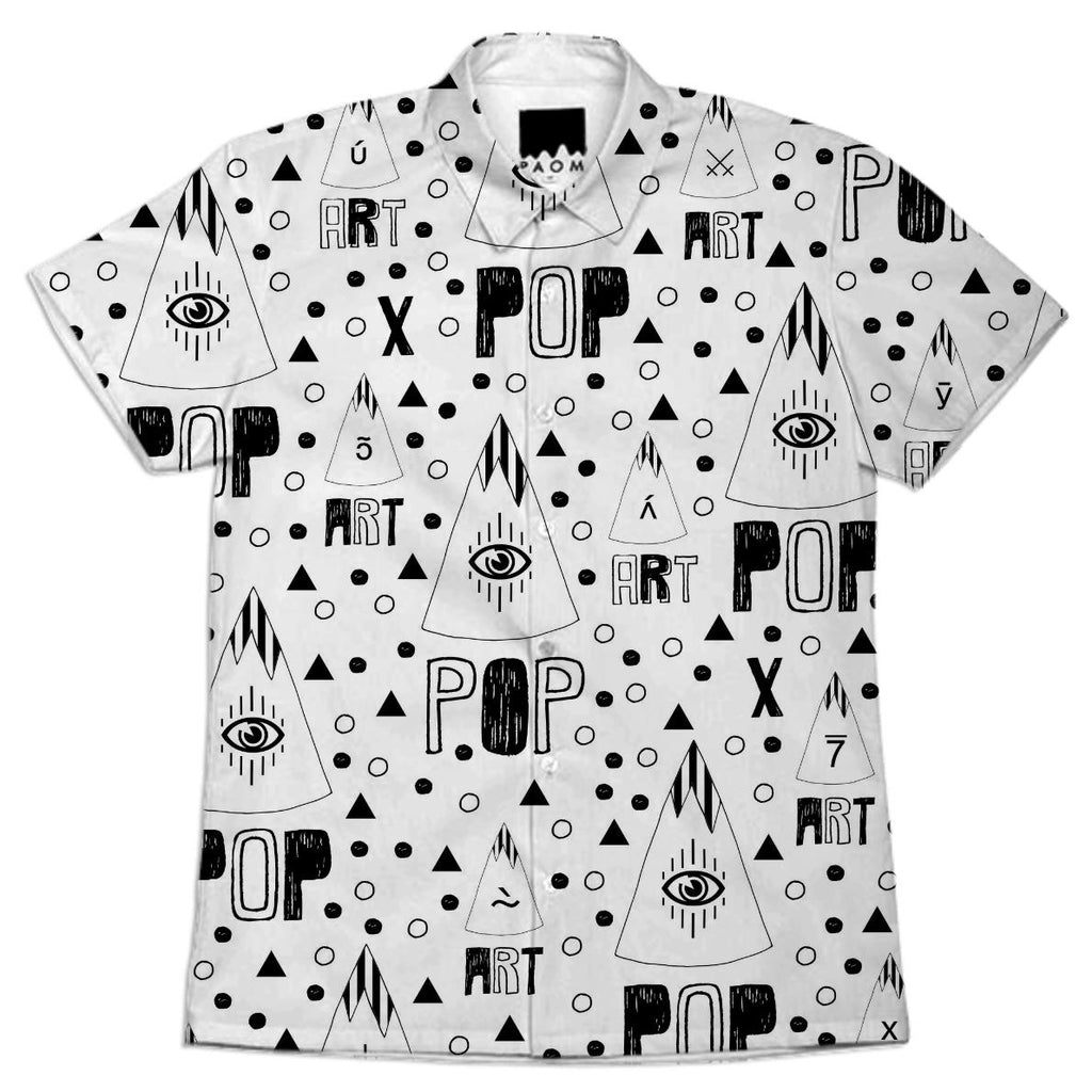 A R T P O P ww ix SHORT SLEEVE SHIRT