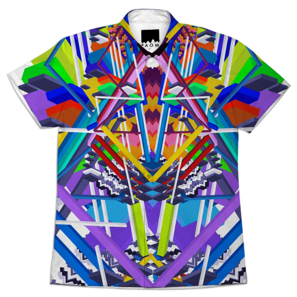 Color Totem Button up