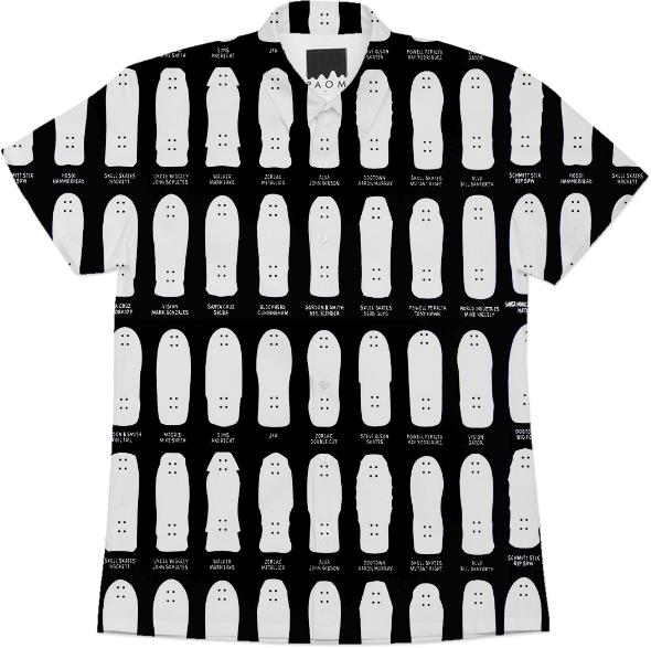 Skateboard Shape Shirt