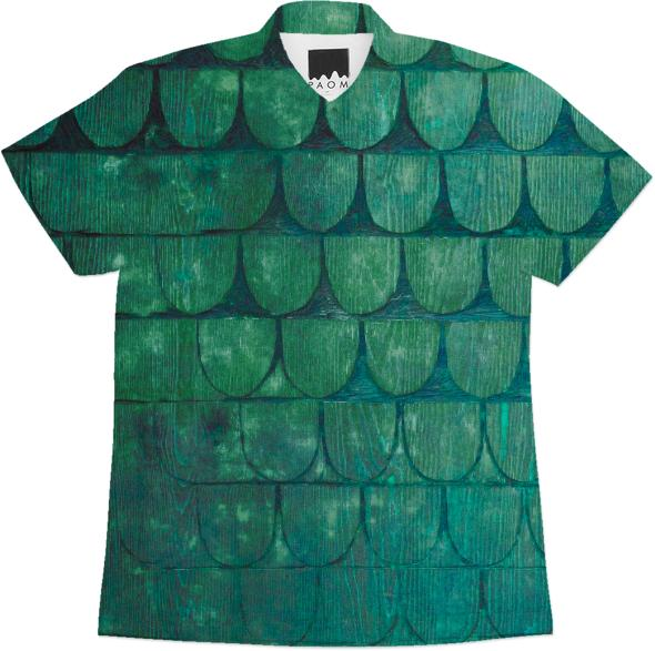 blue scales workshirt