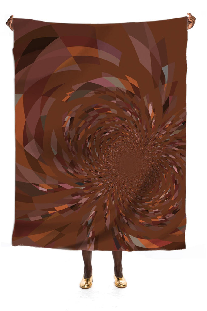 Abstract 364 in Browns VP Silk Scarf