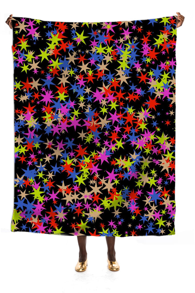 Colorful stars pattern