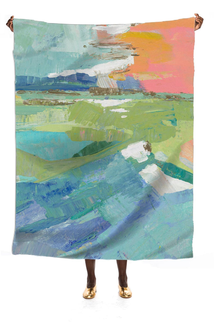 Waterfront Silk Scarf