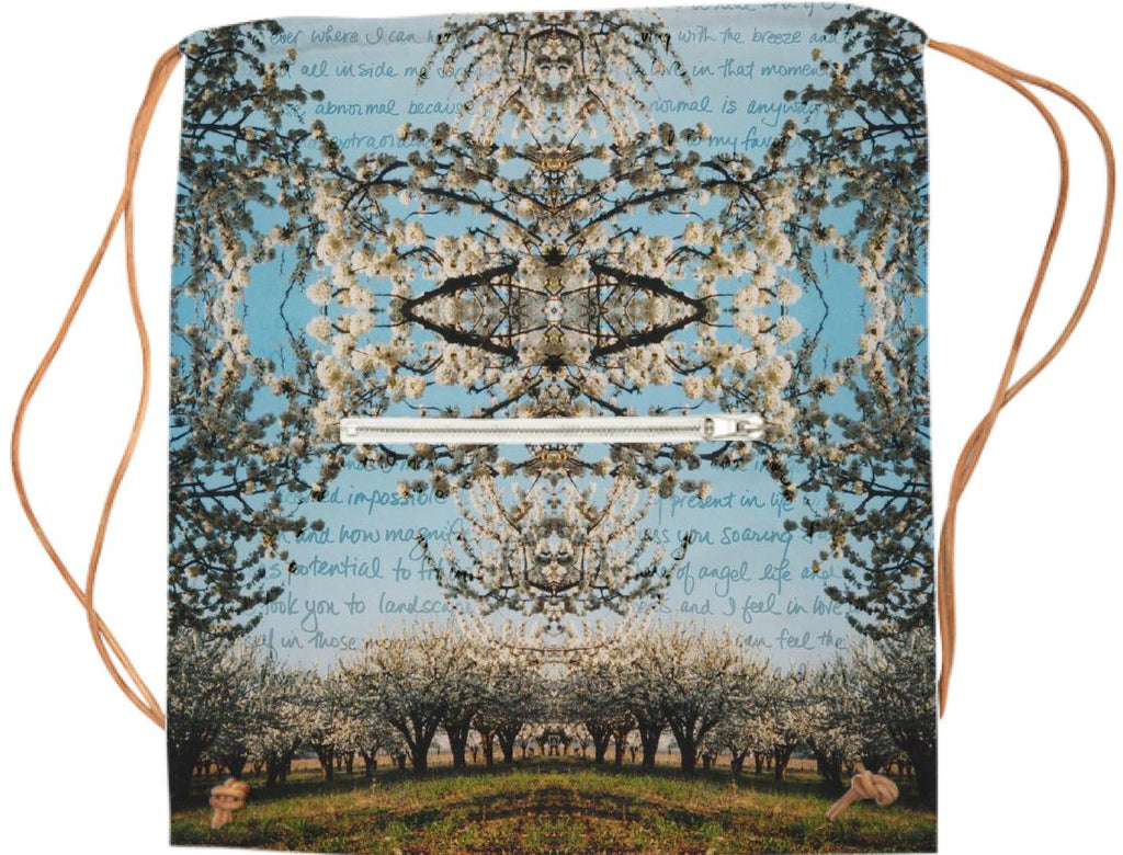 Cherry Blossoms Sports Bag