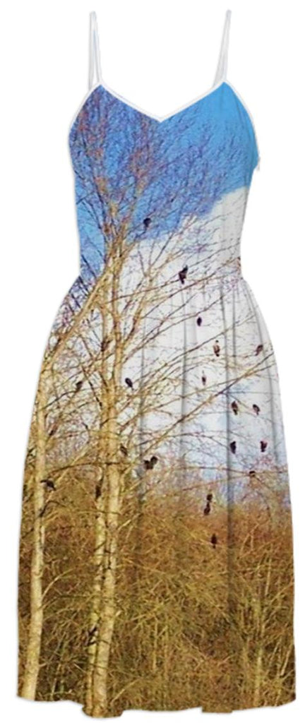 Birds of a Feather Summer Dress