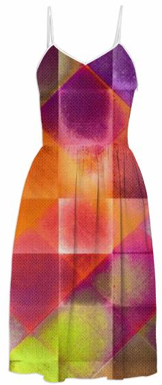 CHECKED DESIGN II v4 Summer Dress 1
