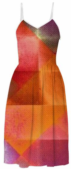 CHECKED DESIGN II v4 Summer Dress 2