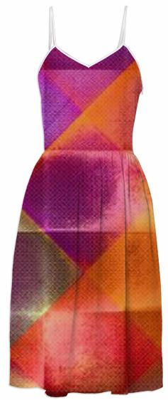 CHECKED DESIGN II v4 Summer Dress 5