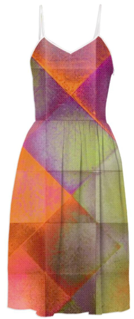 CHECKED DESIGN II v8 Summer Dress 1