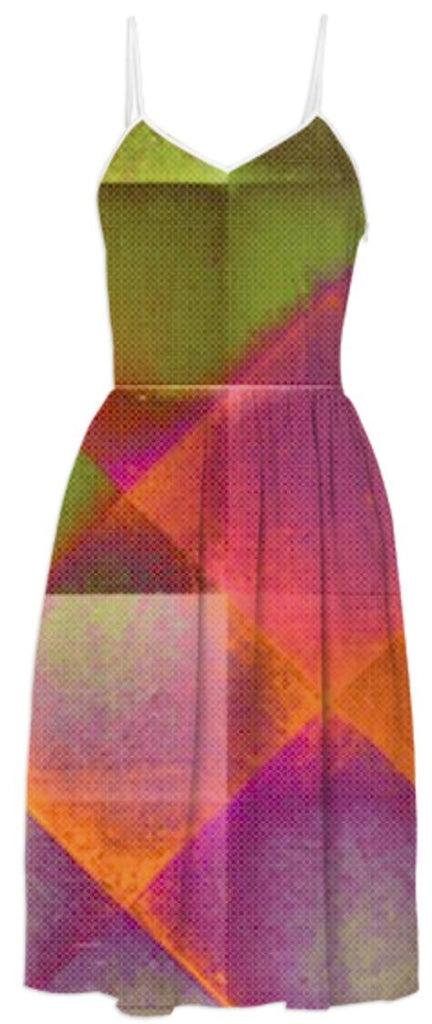 CHECKED DESIGN II v8 Summer Dress 3