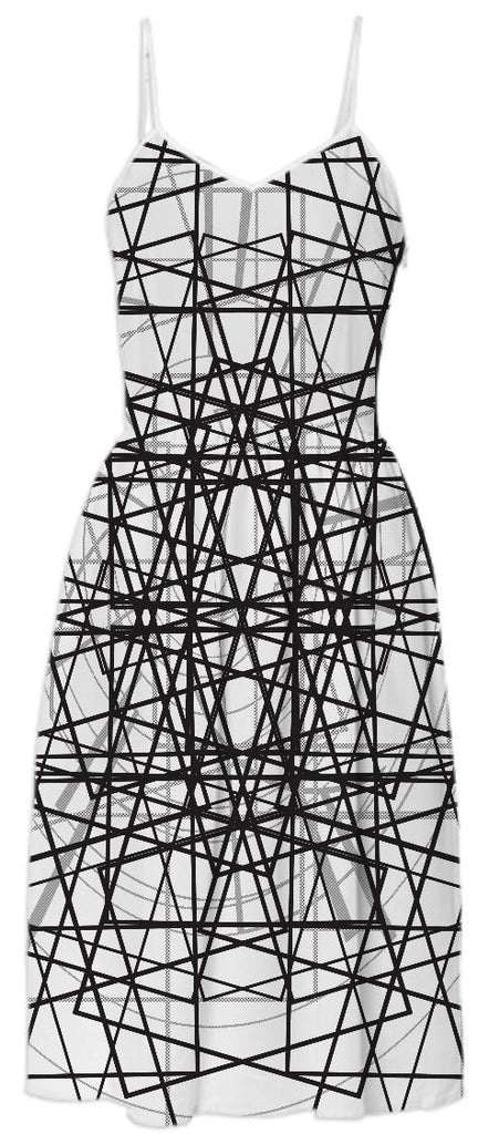 CROSSING LINES SUMMER DRESS