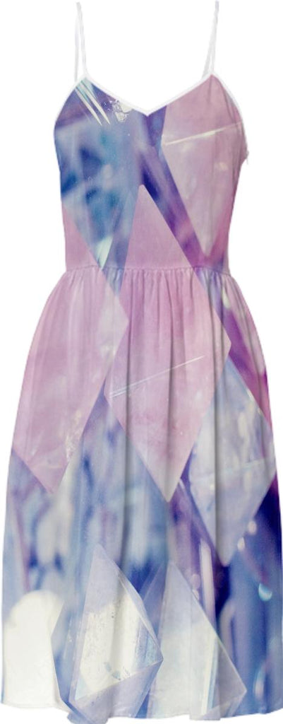 crystal pyramids dress