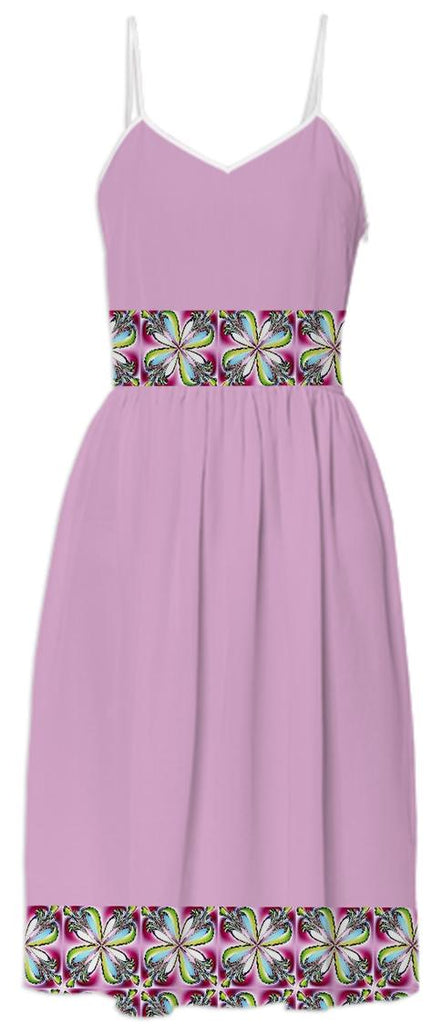 Dogwood Flowers Summer Dress