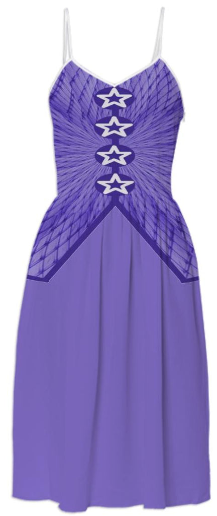 Dusty Purple Summer Dress