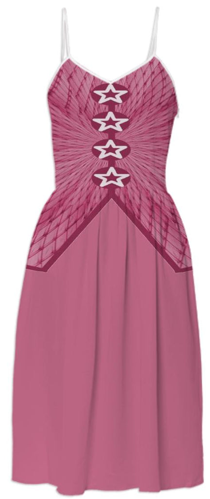 Dusty Rose Summer Dress