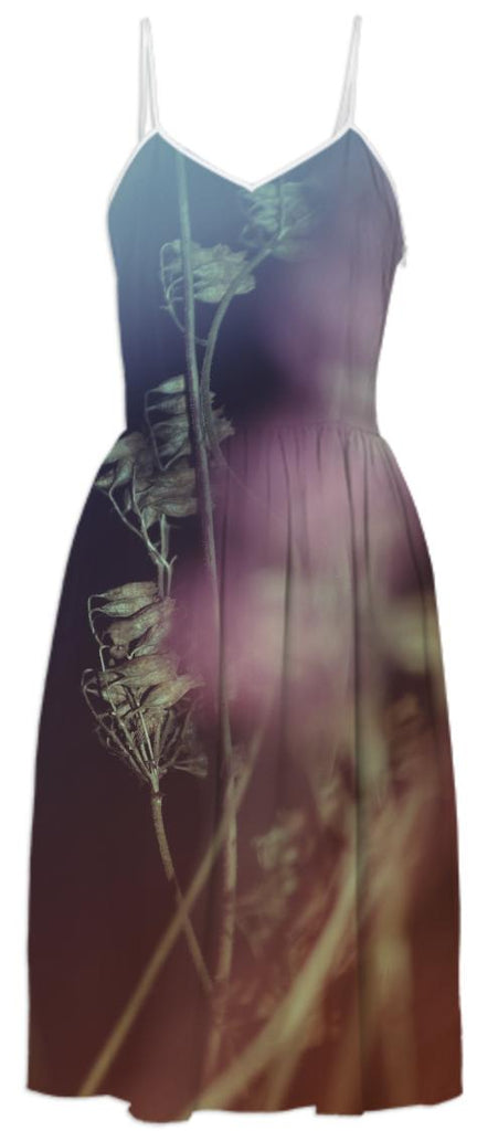 FLORAL ABSTRACT I Summer Dress 3