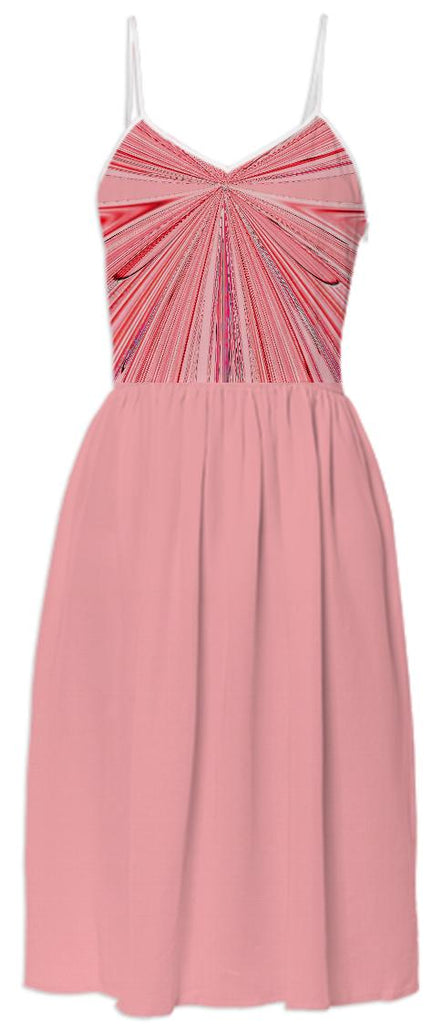 Just Peachy Summer Dress