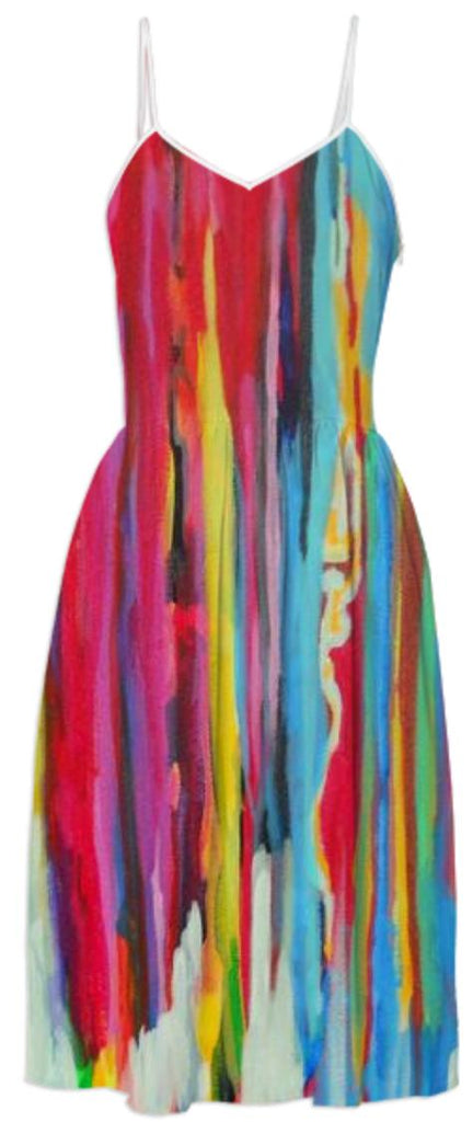 Neon Abstract Dress