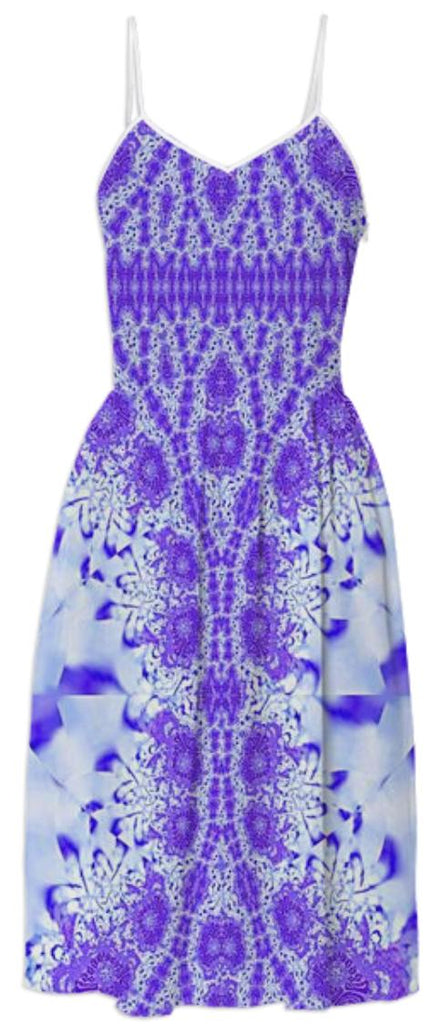 Perfect Plum Lace Summer Dress