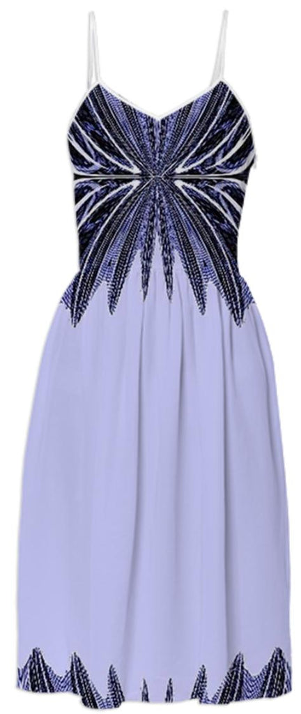 Purple 2 Toned Summer Dress