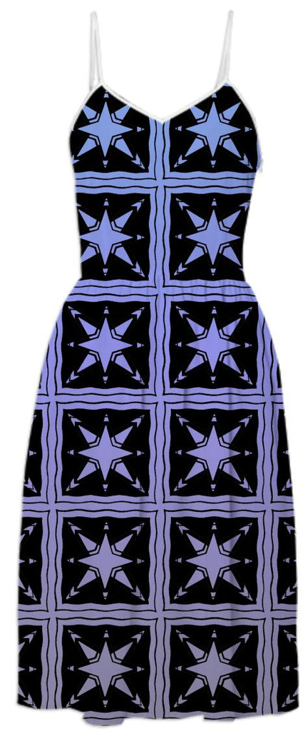Purple and Black Celestial Squares