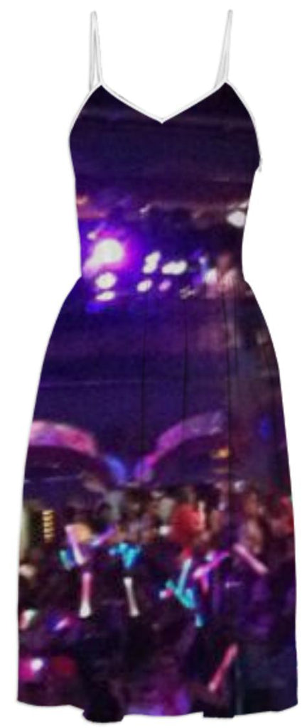 Rainbow Lights Party Dress