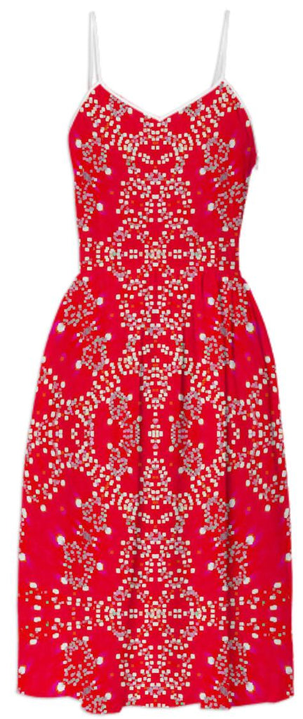 Red Lights Summer Dress