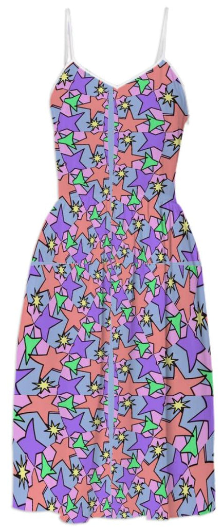 Stars Galore Summer Dress