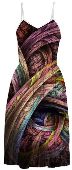 Chasing Colors NirvanaBlues Summer Dress