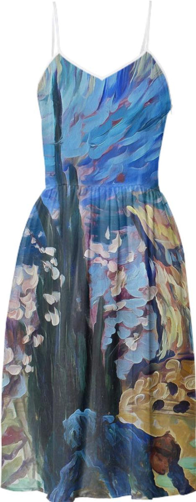 Van Gogh Spirit Summer Dress 1