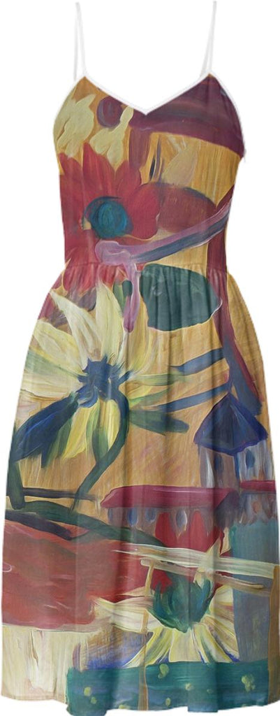 Van Gogh Spirit Summer Dress 2
