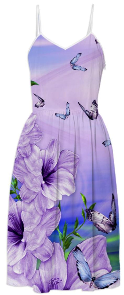 Butterflies in mission SUMMER DRESS