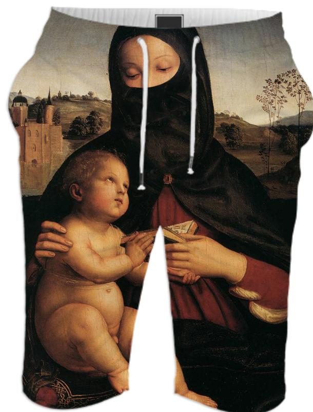 Islamic Madonna and Child Short
