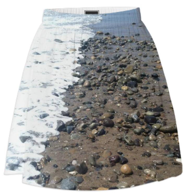 Beach Rocks Skirt
