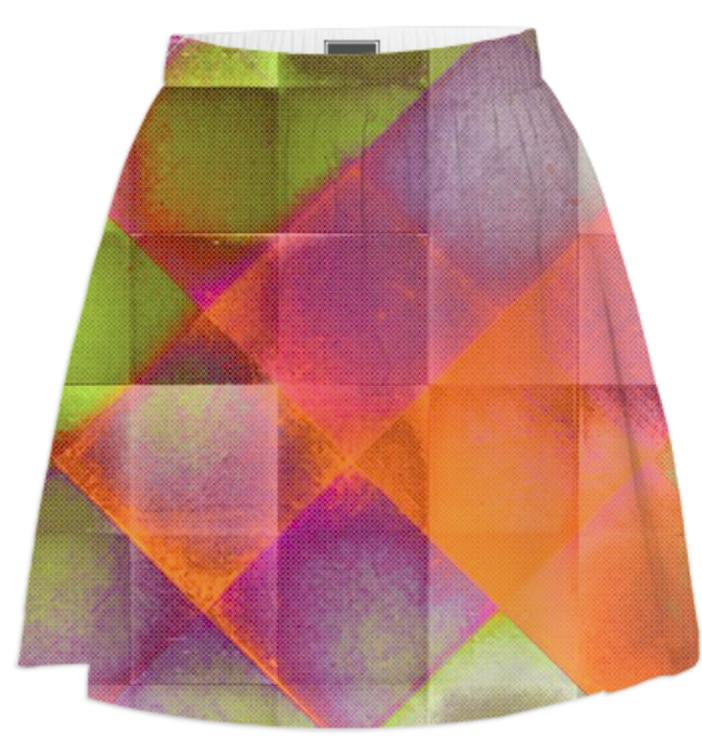 CHECKED DESIGN II v8 Summer Skirt 1