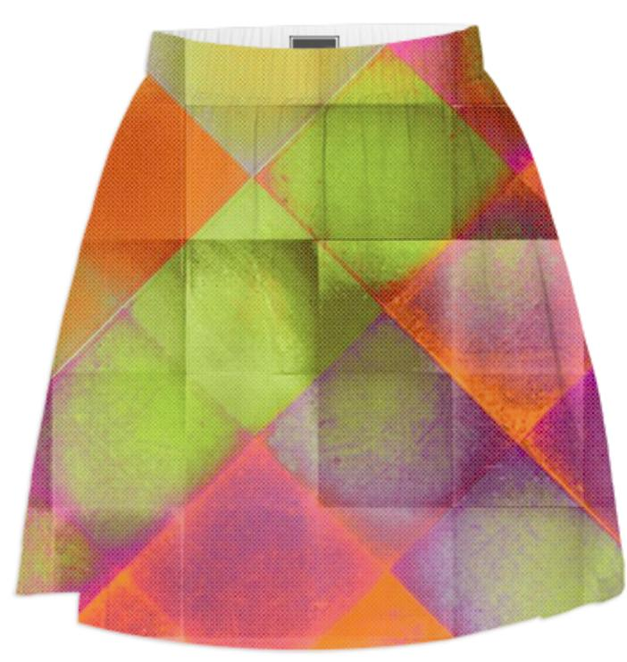 CHECKED DESIGN II v8 Summer Skirt 2