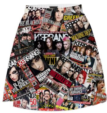 Kerrang Covers Skirt