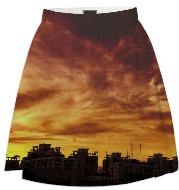 Sunset Skyline Skirt