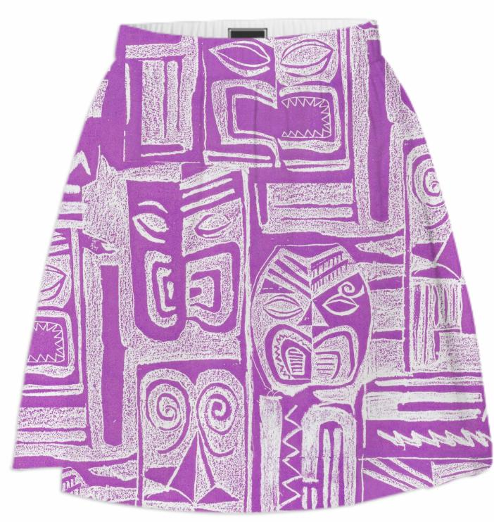 tribal pattern pink
