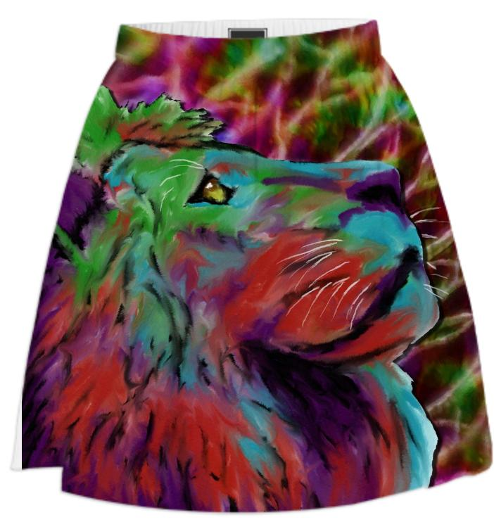 Colorful Lion Skirt