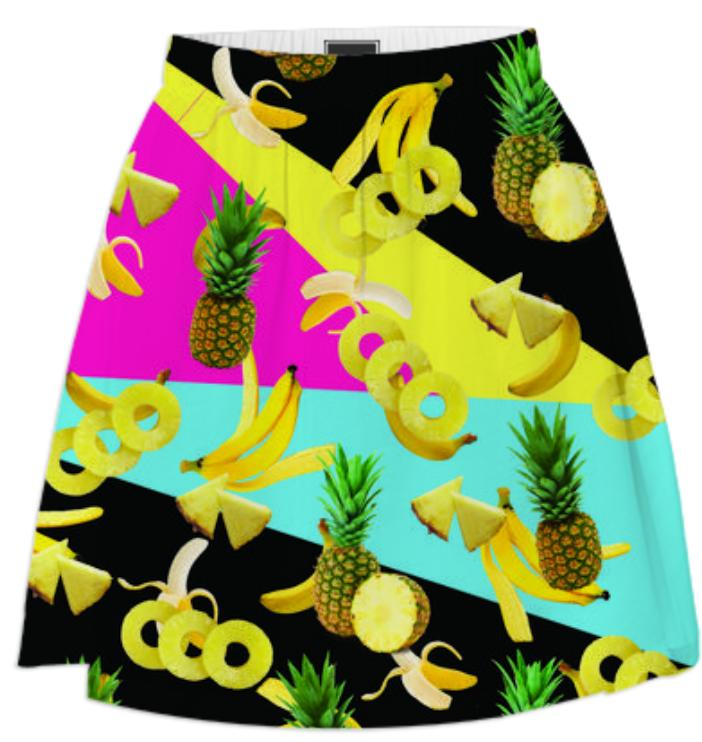 Tropical Summer Skirt