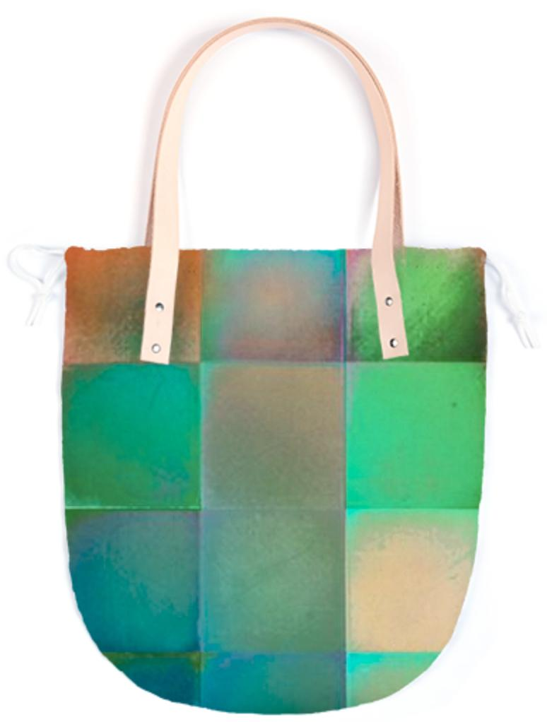 CHECKED DESIGN II Summer Tote II