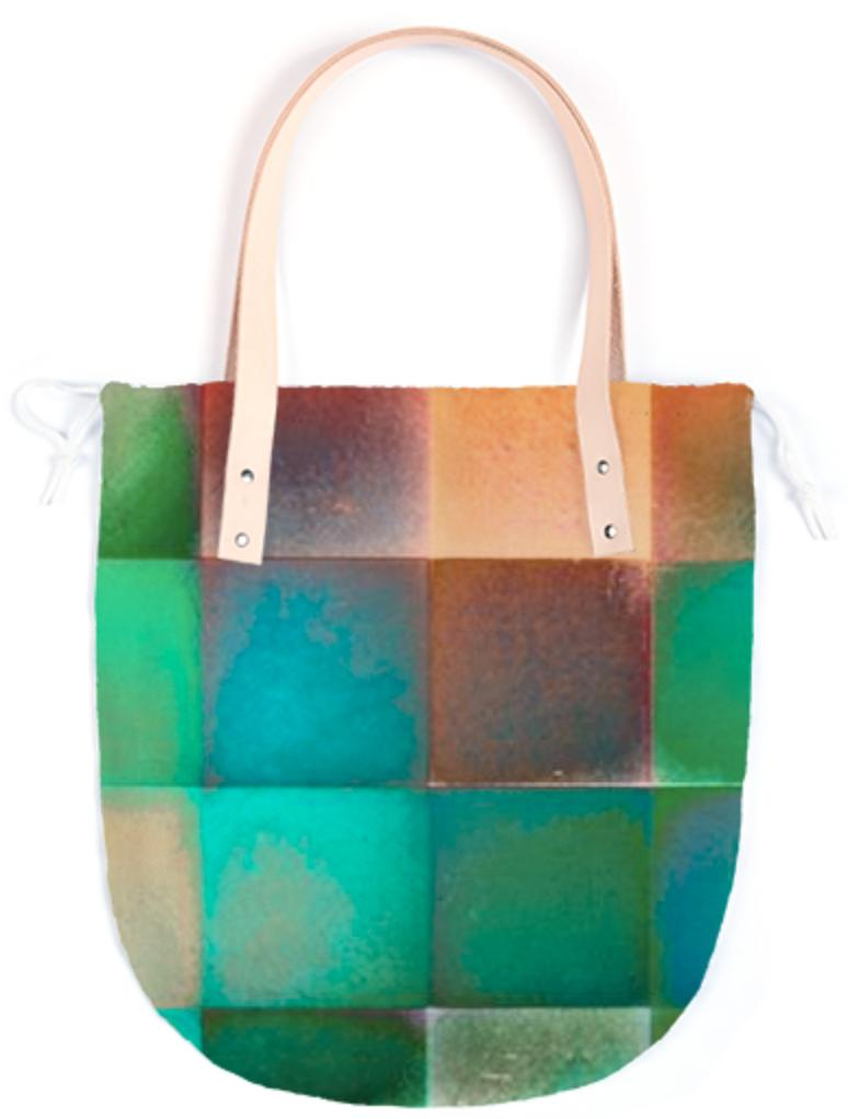 CHECKED DESIGN II Summer Tote III